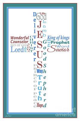 Names Of Jesus-jp2458 Original