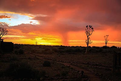 Capt. Greg Daley Photograph - Namibian Sunset by Gregory Daley  PPSA