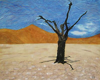 Painting - Namibian Tree by Jini Patel Thompson - JPT