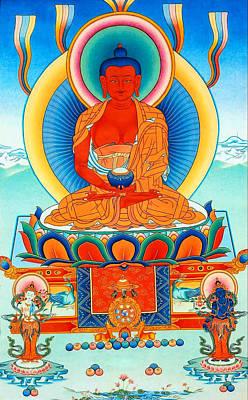 Namo Amitabha Buddha 35 Art Print