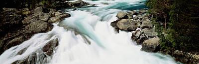 Namsen River Norway Art Print by Panoramic Images