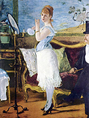Nana Art Print by Edouard Manet