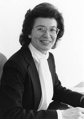 Universities Photograph - Nancy Dowdy by Emilio Segre Visual Archives/american Institute Of Physics