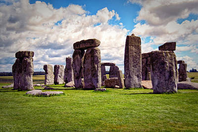 Photograph - Nancy's Stonehenge by Bill Swartwout
