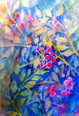 Nandina Art Print