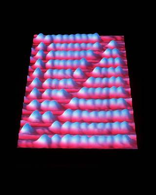 Copper Beads Photograph - Nanometre-scale Abacus by Ibm Research