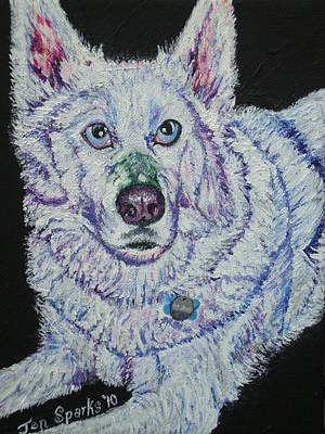 Painting - Nanook by Jen Sparks
