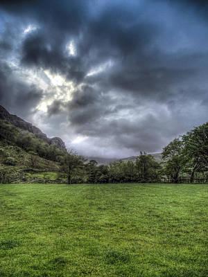 Llyn Gwynant Photograph - Nant Gwynant Campsite by Paul Madden