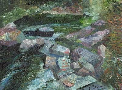 Painting - Nantahala Falls by William Killen