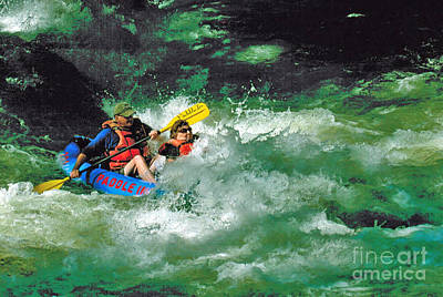 Nantahala Fun Art Print by Don F  Bradford