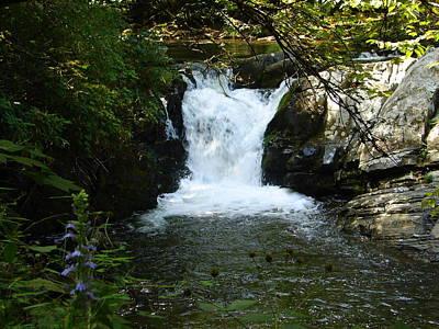 Photograph - Nantahala Stream 3 by Lew Davis