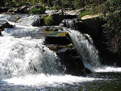 Photograph - Nantahala Stream 4 by Lew Davis