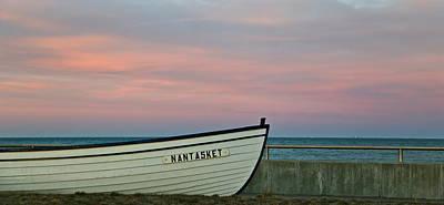 Nantasket Beach Boat Art Print by Patricia Abbate