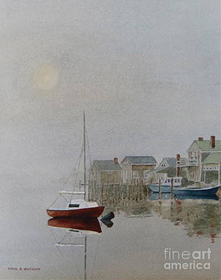 Nantucket Fog Art Print