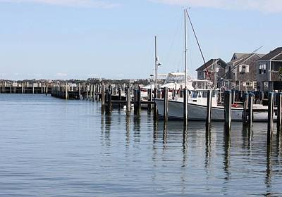 Photograph - Nantucket Harbor by Carolyn Jacob