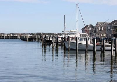 Photograph - Nantucket Harbor by Carolyn Jacob