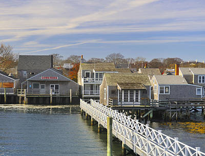 Photograph - Nantucket Harbor II by Marianne Campolongo