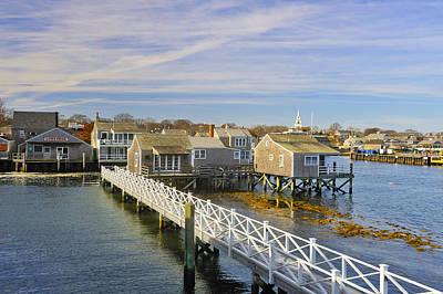 Photograph - Nantucket Harbor IIi by Marianne Campolongo