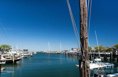 Photograph - Nantucket Harbor by Michelle Wiarda-Constantine