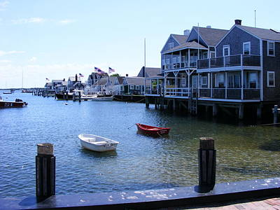 Nantucket Harbors Art Print
