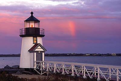 Photograph - Nantucket Light by Paul Miller