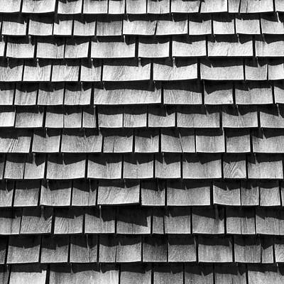Photograph - Nantucket Shingles by Charles Harden