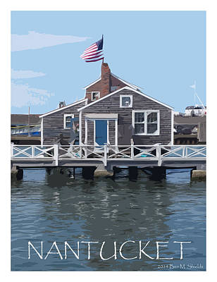 Photograph - Nantucket Style by Ben Shields