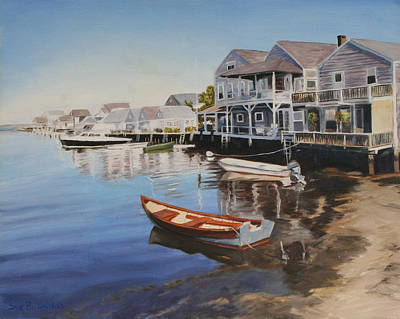 Cape Cod Painting - Nantucket by Sue Birkenshaw