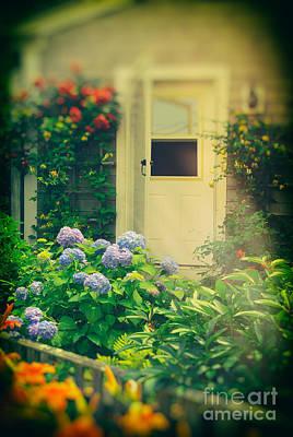 Nantucket Summer Garden Art Print