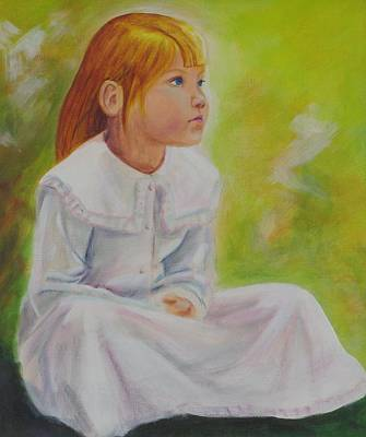 Painting - Naomi by Dominic Sanson