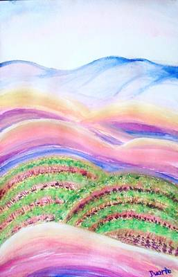 Art Print featuring the painting Napa Valley by Carol Duarte