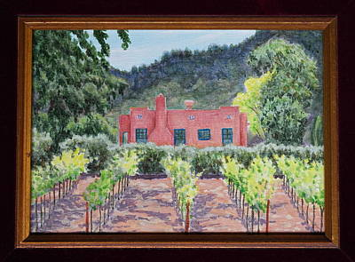 Painting - Napa Valley Red by Michele Myers