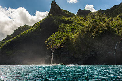 Photograph - Napali Coast by Harry Spitz