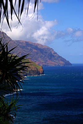 Photograph - Napali Coast Summer by Robert Lozen