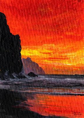 Hawaiian Islands Painting - Napali  by Darice Machel McGuire