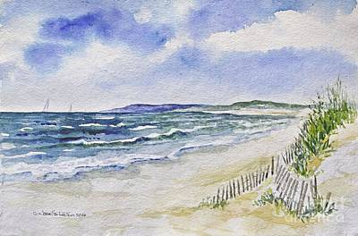 Painting - Napatree Beach by Joan Hartenstein