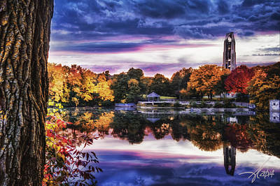 Naperville In Autumn Art Print