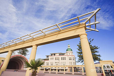 Napier New Zealand Art Deco Print by Colin and Linda McKie