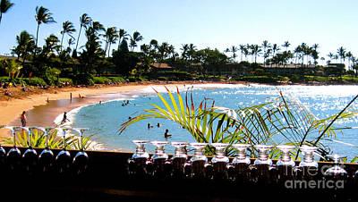 Napili Bay Maui Hawaii Original by Jerome Stumphauzer