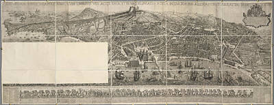 Naples Art Print by British Library