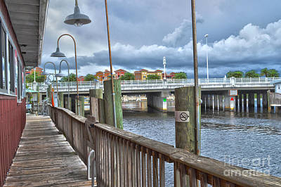 Naples Florida Waterfront Art Print by Timothy Lowry