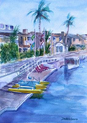 Painting - Naples Fun by Debbie Lewis