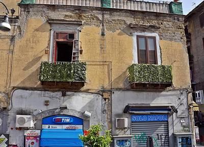Photograph - Naples-italy -134 by Rezzan Erguvan-Onal