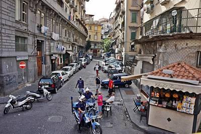 Photograph - Naples-italy -154 by Rezzan Erguvan-Onal