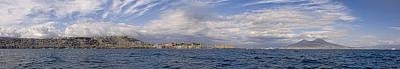 Naples Panorama Art Print by Chris Cameron