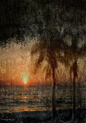 Painting - Naples Sunset by Patrick J Osborne