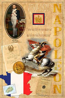 Napoleon Print by Andrew Fare