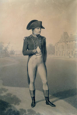 Imperial Drawing - Napoleon Bonaparte  by Jean-Baptiste Isabey