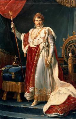 Orbs Painting - Napoleon Bonaparte by Francois Pascal Simon, Baron Gerard