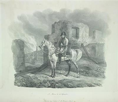 Adam Photograph - Napoleon by British Library